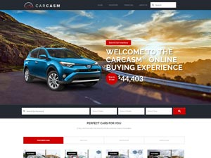 CarCasm Full Demo Website