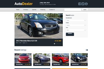 Auto Dealer Template